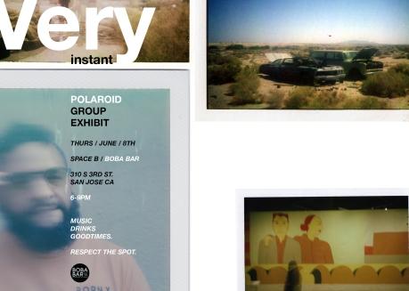 Polaroid-Show-Flyer